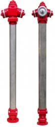 Hidrant suprateran DN 80 - DN100 cu coloana din inox 8855